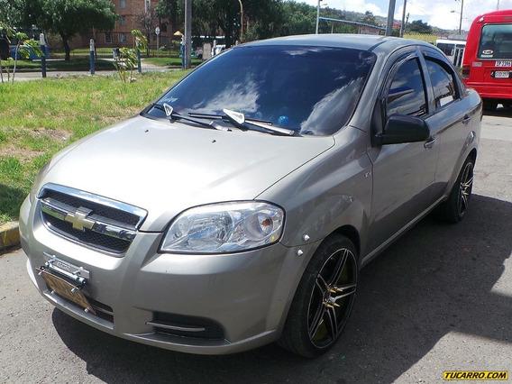 Chevrolet Aveo Emotion Mt 1600 Cc Aa