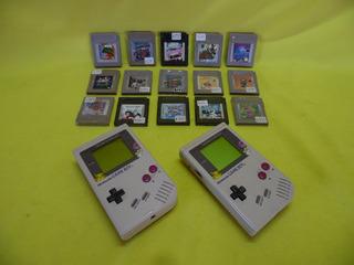 Consola Gameboy Tabique * Con Un Juego A Escoger *
