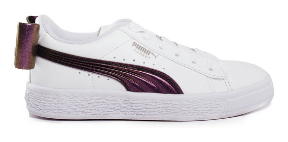 Zapatillas Puma Basket Bow Shimmer Ps Sportstyle -37004701-