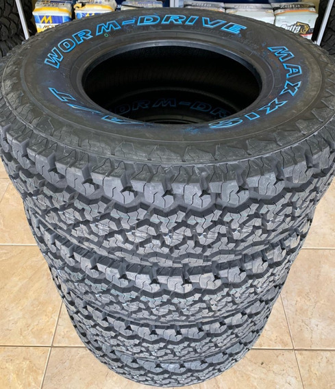 4 Pneus 265/75r16 Maxxis At980 Bravo Worm-drive Hilux Ranger