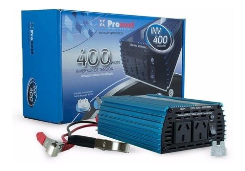 Inversor Conversor  12vdc A 220vac. 400w Pronext Inv-400