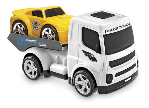 Novo Caminhão Branco Falcon Truck Guincho Usual