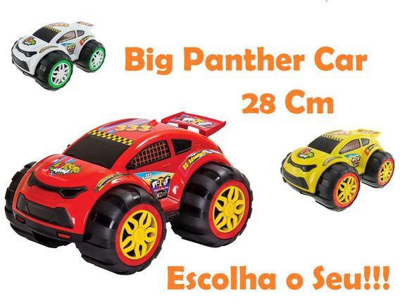 Brinquedo Big Panther Car - 28 Cm - Escolha O Seu