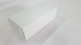 Caixa De Sapato Branca Embalage. De Papelão 12 X 28 - Kit 10