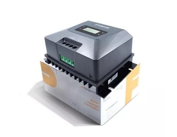 Controlador De Carga Painel Mppt Solar 50a 12v/24v Black