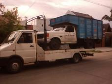 Servicio De Auxilio-remolque Con Camilla Hidraulica Zona Sur