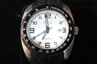 Reloj Lotus Hombre Acero Sumergible Cristal Mineral Mgm10