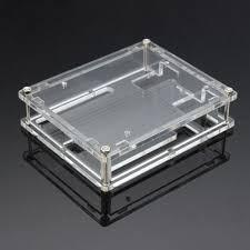 Imagen 1 de 4 de Caja Acrilico Gabinete Arduino Uno R3 Shell Box  Itytarg