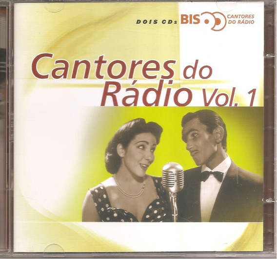 Cd - Cantores Do Rádio - Volume 1 - Bis