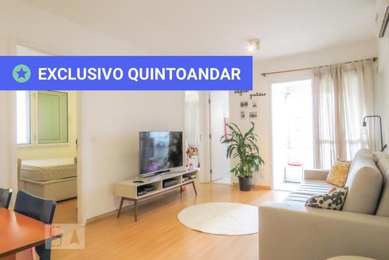 Apartamento No 4º Andar Com 2 Dormitórios E 1 Garagem - Id: 892957563 - 257563