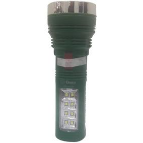 Lanterna Recarregável Gimex 1w 1 + 8 Leds Gx-29278 Verde