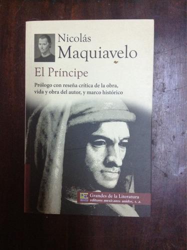 Nicolás Maquiavelo, El Príncipe