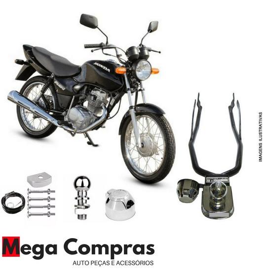 Engate Para Reboque Moto Honda Cg Titan Fan 125 / 150 / 160