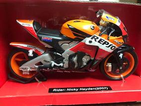 Moto De Colección Repsol Honda Rc212v 2007 1:12