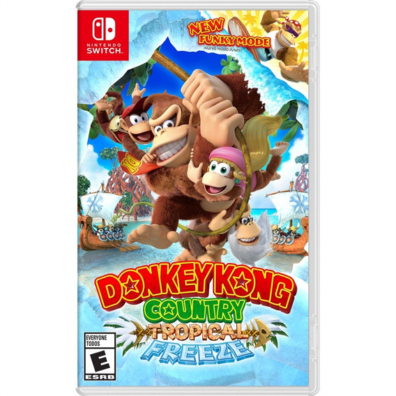 Donkey Kong Country : Tropical Freeze Switch Lacrado