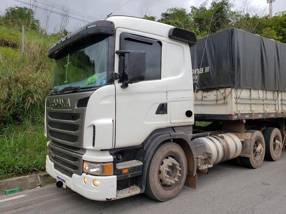 Scania G420 A 6x4 Ano 2010/2011 Revisada = Volvo, 440, Mb
