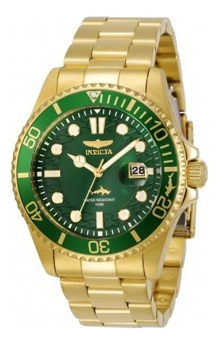 Relógio Masculino Invicta Pro Diver 30027 Banhado Ouro 18k