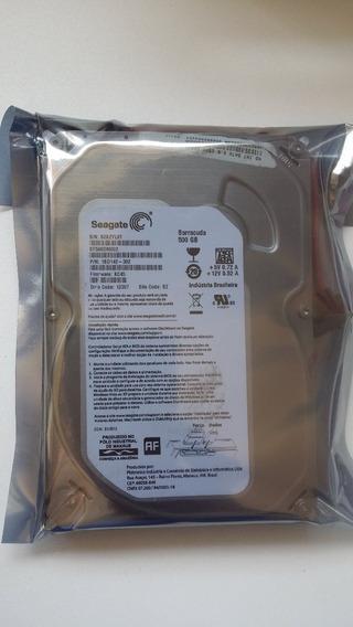 Hd Sata Desktop Interno 500gb Seagate Dvr Pc
