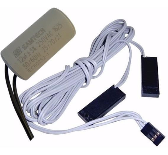 Sensor De Fim De Curso + Capacitor 12uf Motor Basculante Ppa
