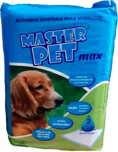 Paño Educativo Sanitario Perros Master  40 Uni 60x90