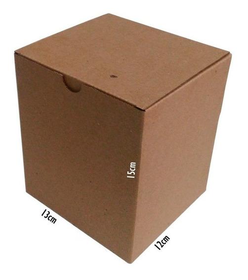 100 Caixas De Papelão 13x12x15 Para Caneca Correios Sedex