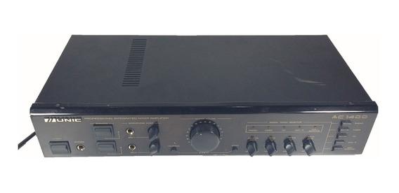 Amplificador Com Mixer 112w Unic Ac 1400