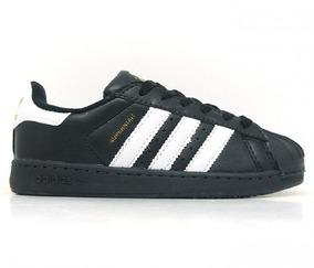 Tênis Feminino adidas Superstar Preto E Branco