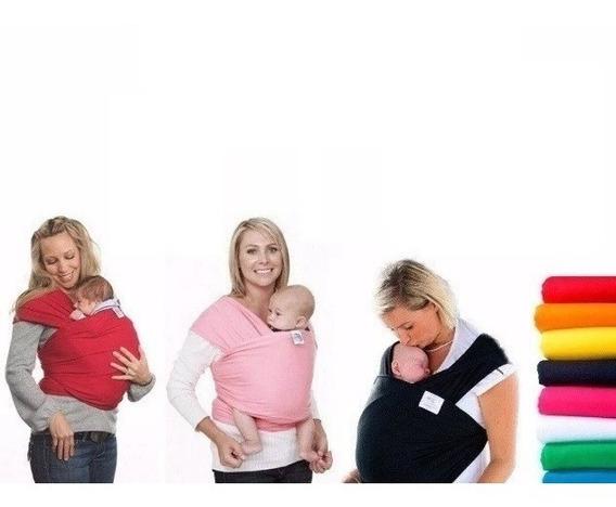 Wrap Sling, Canguru, Carregador De Bebê, Sling Modelo Luxo