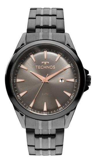 Relógio Technos Masculino Preto Executive 2115lat/4c