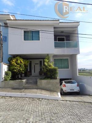 Excelente Casa Em Condomínio Alto Padrão No Bairro Da Gloria - Ca0217