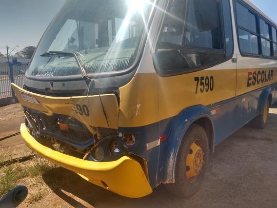Micro Ônibus Mb 610 Comil Belo Ano 2002
