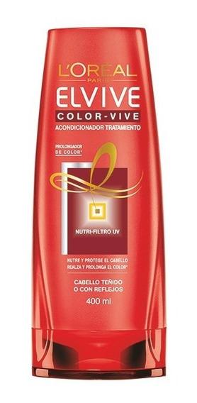Acondicionador Tratamiento Color Vive Elvive Loreal 400ml