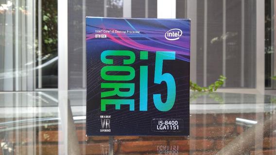 Caixa De Processador Core I5-8400 Lga1151 - Compl. Com Selo