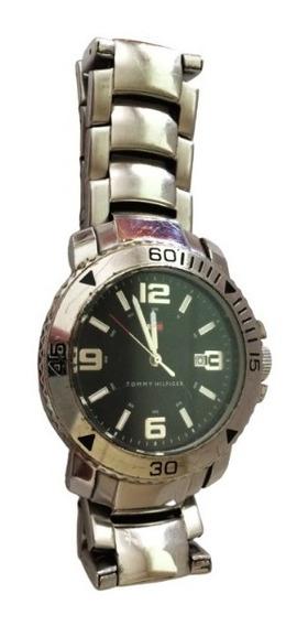 Relógio Tommy Hilfilger Masculino Aço Original. Grandão!
