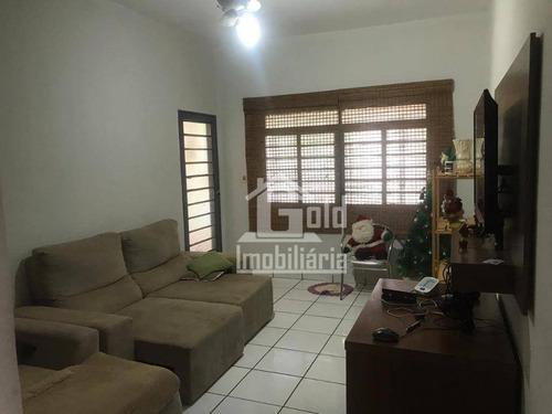 Casa Com 2 Dormitórios À Venda, 114 M² Por R$ 220.000 - Quintino Facci I - Ribeirão Preto/sp - Ca1804