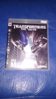 Juego Transformers The Game, Para Ps3. Usado