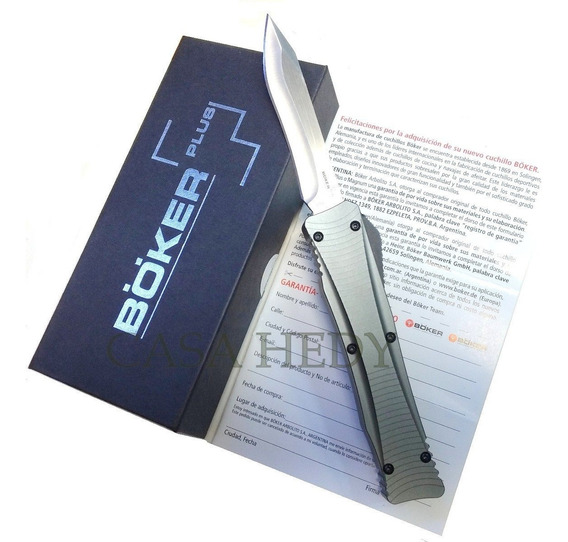 Navaja Boker Plus Frontal Automatica Lohtak Halcon Bo211