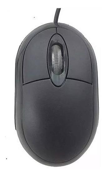 Mouse Pctop Usb Optico 800 Dpi Preto - Mopr03