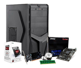 Pc Gamer Amd 3.9ghz, Geforce 2gb 1030 Gt, 8gb, 1tb, Pro