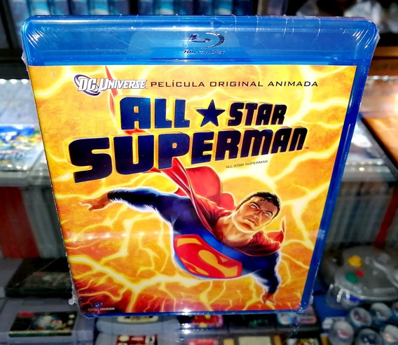 All Star Superman The Movie Blu-ray Nueva (hit Games Shop)