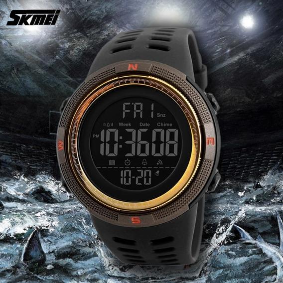 Relógio Masculino Skmeii 1251 À Prova Dágua Top / Com Caixa