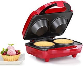 Holstein Housewares Hf09036r Waffle Bowl Maker Acero Inoxida