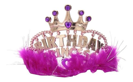 Tiara Corona Cumpleaños Birthday Princess Fiesta Princesas