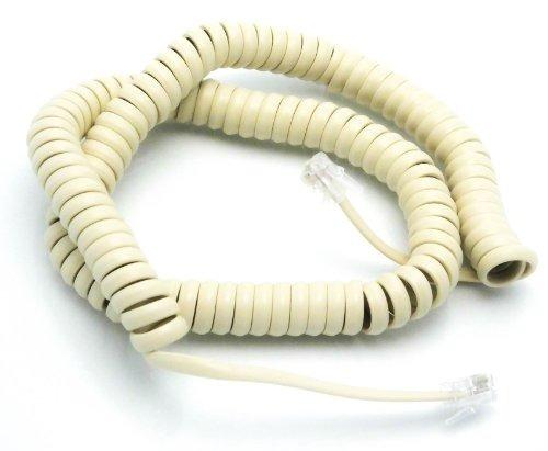 Cable Telefónico Auricular Rizado - Color Del Teléfono Class