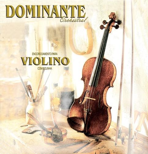 Imagem 1 de 2 de Encordoamento Cordas Violino Dominante Orchestral 89