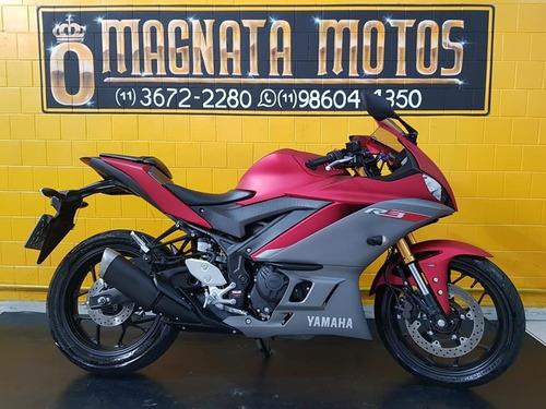 Yamaha Yzf R3 - Vermelha - 2020 - Km 1.000