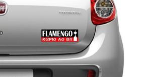 Adesivo Flamengo Rumo Ao Bi Libertadores 2018