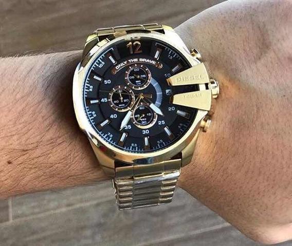 Relógio Diesel Masculino Ouro