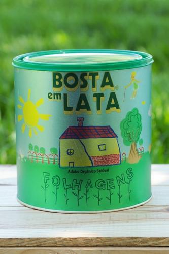 Fertilizante Orgânico Bosta Em Lata Folhagens - 1,8 Kg