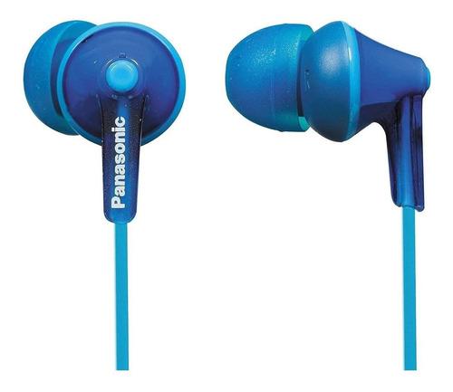 Imagen 1 de 1 de Audífonos in-ear Panasonic ErgoFit RP-HJE125 azul